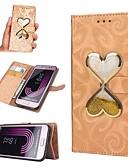 abordables Bufandas de Raso Chics-Funda Para Samsung Galaxy J7 (2017) / J5 (2017) Cartera / Soporte de Coche / Líquido Funda de Cuerpo Entero Corazón Dura Cuero de PU para J7 (2016) / J7 / J5 (2016)