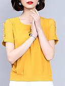 povoljno Bluza-Majica s rukavima Žene Dnevno Jednobojni