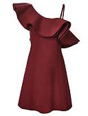 povoljno Bluza-Žene Izlasci Bodycon Haljina Na jedno rame Iznad koljena Visoki struk