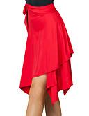 tanie Modna bielizna-Taniec latynoamerykański Doły Damskie Szkolenie Spandeks Bandażowe Dropped Spódnice