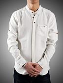 ieftine Maieu & Tricouri Bărbați-Bărbați Cămașă Chinoiserie - Mată