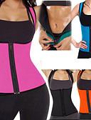preiswerte Damen Hosen-Körperformer / Heißes Schweiß-Trainings-Trägershirt, das Weste abnimmt Mit 1 pcs Neopren Dehnbar, Ohne Reißverschluß Gewichtsverlust, Verbrannte Kalorien, Bauch Fett Burner Zum Yoga / Übung & Fitness