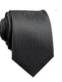 olcso Férfi nyakkendők és csokornyakkendők-Férfi Egyszínű / Csíkos Selyem / Pamut, Munkahelyi / Alap - Nyakkendő / Minden évszak