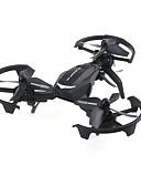 tanie Damskie bluzy z kapturem-RC Dron JJRC NH011 RTF 4 Kalały Oś 6 2,4G Zdalnie sterowany quadrocopter Powrót Po  Naciśnięciu Jednego Przycisku / Możliwośc Wykonania Obrotu O 360 Stopni Zdalnie Sterowany Quadrocopter / Aparatura