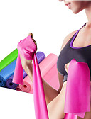 cheap Women's Nightwear-Exercise Resistance Bands With 1 pcs Emulsion Stretchy Strength Training, Physical Therapy For Yoga / Pilates / Fitness Home / Office