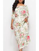 baratos Vestidos de Mulher-Mulheres Básico Reto Vestido Longo