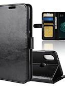 povoljno Maske za mobitele-Θήκη Za Xiaomi Xiaomi Mi 6X(Mi A2) Novčanik / Utor za kartice / Zaokret Korice Jednobojni Tvrdo PU koža