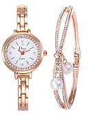 preiswerte Damen Pullover-Damen Kleideruhr / Armband-Uhr Chinesisch Kreativ Edelstahl Band Elegant Silber