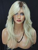 cheap Women's Nightwear-blonde wave fashion daily wearing wig for blande women heat resistant