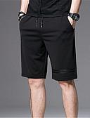 baratos Calças e Shorts Masculinos-Homens Básico Chinos Calças - Sólido