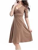 ieftine Print Dresses-Pentru femei Sofisticat / Elegant Subțire Pantaloni - Mată Peteci Mov / V Adânc / Ieșire