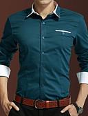 povoljno Muške majice i potkošulje-Majica Muškarci Dnevno / Rad Color block