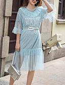 זול שמלות נשים-מידי שמלה נדן ליציאה בגדי ריקוד נשים