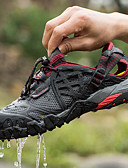 cheap Men's Tees & Tank Tops-Men's Hiking Shoes / Water Shoes Rubber Fishing Wearable, Breathable, Outdoor Net Black / Dark Grey
