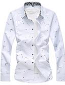 זול חולצות לגברים-מנוקד בסיסי חולצה - בגדי ריקוד גברים