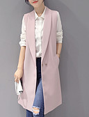 cheap Women's Trench Coat-Women's Basic Trench Coat - Solid Colored