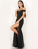 tanie Sukienki-Damskie Impreza Rurki Bodycon Sukienka - Solidne kolory Bez ramiączek Wysoka talia Maxi / Lato