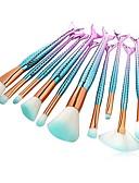 preiswerte Bikinis und Bademode 2017-10 Stück Makeup Bürsten Professional Bürsten-Satz- / Lidschatten Pinsel / Lippenpinsel Nylon Pinsel Umweltfreundlich / Weich /