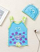 זול בגדי ים לבנים-בגדי ים דפוס חוף בנים ילדים / פעוטות