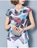 ieftine Tricou-Pentru femei Tricou Geometric Imprimeu