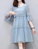 povoljno Ležerne haljine-Žene Izlasci A kroj Haljina Iznad koljena