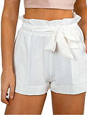 cheap Women's Pants-Women's Basic Shorts Pants - Solid Colored
