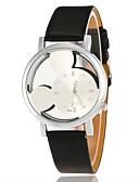 baratos Quartz-Mulheres Relógio de Pulso Quartzo Preta / Branco / Azul Relógio Casual Adorável Analógico senhoras Desenho Fashion - Vermelho Rosa claro Preto / Branco