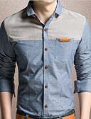 povoljno Muške košulje-Majica Muškarci Dnevno / Rad Color block