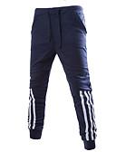 ieftine Pantaloni Bărbați si Pantaloni Scurți-Bărbați Vintage Pantaloni Chinos Pantaloni Dungi