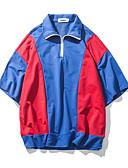 povoljno Muške majice i potkošulje-Majica s rukavima Muškarci Izlasci Color block