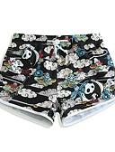 זול פיג'מות-בגדי ריקוד נשים מכנסי שורט בגדי ים קל במיוחד (UL), ייבוש מהיר, נושם ספנדקס / פולי בגדי ים ביגוד חוף מכנסי גלישה / תחתיות פירות גלישה / חוף / ספורט ימי