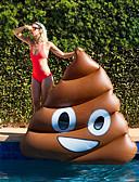 olcso Férfi fürdőnadrág-Felfújható strandjátékok PVC Tartós, Felfújható Úszás / Vízi sportok mert Felnőttek 140*130*120 cm
