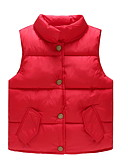 cheap Boys' Jackets & Coats-Toddler Boys' Solid Colored Sleeveless Vest