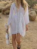 cheap Women's Dresses-Women's Cover-Up - Solid Colored Lace Thong