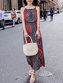 preiswerte Maxi-Kleider-Damen Hülle Kleid Maxi