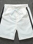זול בגדי ים לגברים-מכנסי שחייה פסים / קולור בלוק חלקים תחתונים בגדי ריקוד גברים