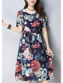 זול שמלות נשים-עד הברך / מעל הברך שמלה נדן ליציאה בגדי ריקוד נשים