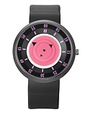 cheap Quartz Watches-Men's / Women's Sport Watch Casual Watch Rubber Band Casual Black