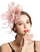 cheap Fashion Headpieces-Women's Vintage / Elegant Headband / Hair Clip / Fascinator - Solid Colored Flower