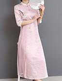 tanie Sukienki-Damskie Szczupła Pochwa Sukienka Golf Maxi