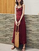 povoljno Ženske haljine-Žene Izlasci Korice Haljina S naramenicama Maxi
