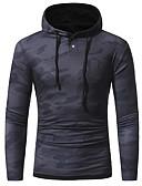 baratos Camisetas & Regatas Masculinas-Homens Camiseta Básico Estampado, camuflagem