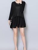 tanie Sukienki-Damskie Vintage Spodnie - Solidne kolory Czarny / Mała czarna