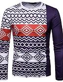 ieftine Maieu & Tricouri Bărbați-Bărbați Tricou Boho - Tribal Imprimeu