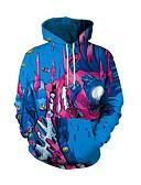 cheap Men's Hoodies & Sweatshirts-Men's Active Hoodie - Geometric