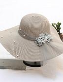 ieftine Gadgeturi de baie-Paie Palarie cu Imitație de Perle / Panglici / Floral 1 buc Nuntă / Party / Seara Diadema