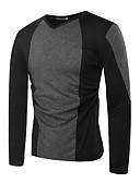 povoljno Muške polo majice-Majica s rukavima Muškarci Dnevno Color block