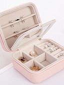 ieftine Gadgeturi de baie-Depozitare Organizare Colecția de bijuterii PU piele Formă dreptunghiulară Portabil