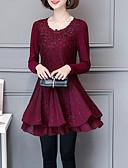 povoljno Ženske haljine-Žene Izlasci A kroj Haljina Iznad koljena