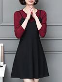 ieftine Rochii de Damă-Pentru femei Casual Mărime Plus Size Pantaloni - Mată Roz Îmbujorat